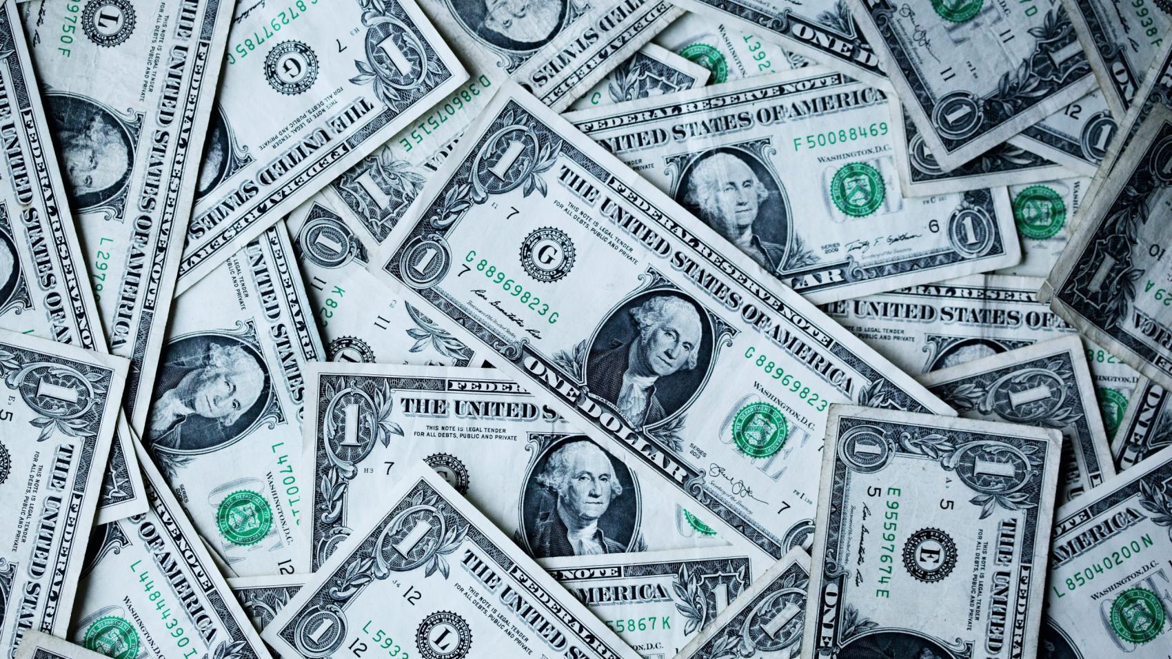 1 U.S.A dollar banknotes