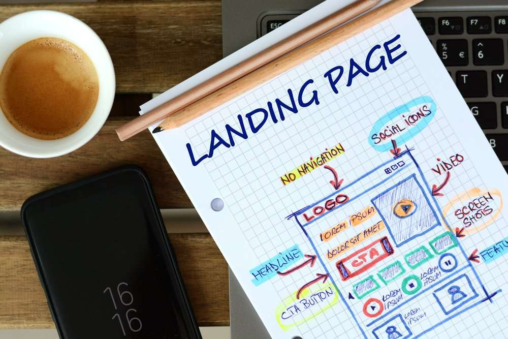 "Website,Landing,Page,Development,€"",Sketch,On,Math,Book"